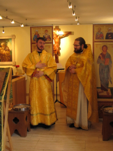 Weiterlesen: Поздравили диакона с годовщиной служения